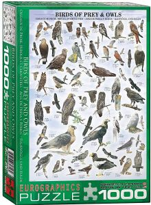 Birds of Prey and Owls 1000 piece jigsaw puzzle  680mm x 490mm (pz)